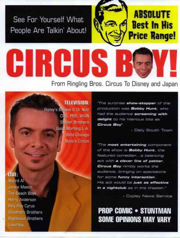 chicago event entertainment bobby hunt comedy juggling